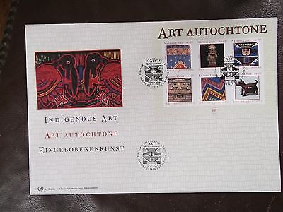U.N.Geneva Art Autochtone 2005 First Day Cover