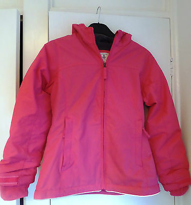 New Land End Girls' Squall Jacket Winter Snow Ski Coat Pink 9-12 yrs 140-146cm