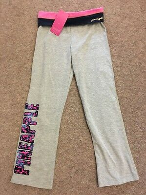 Pineapple Girls Joggers Jazz Pants Grey  Age 6-7yrs