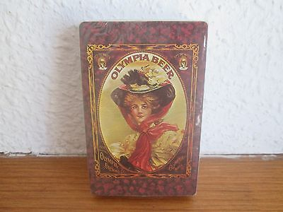 Vintage 1970's Olympia Beer Sealed Deck of Playing Cards - Stardust Made in USA