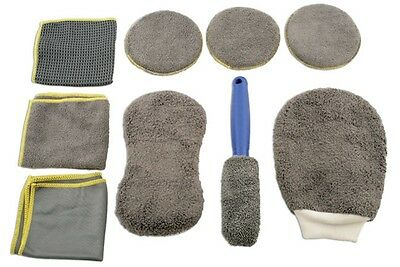 Microfibre Cleaning Kit - 9pc 5556 Laser New