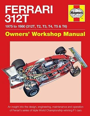 Ferrari 312t Manual H5811 Haynes New