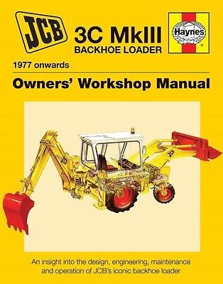 Jcb 3c Mk111 Backhoe Loader Manual H6072 Haynes New