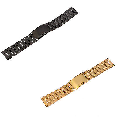 Stainless steel watch strap 22mm Watch Band Watch Band Metal Band Black PK