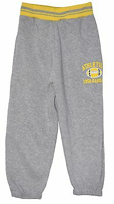 "Boy Girl Grey Fleece Lined ""athletics"" Joggers Joging Pants Trousers 3-4Yrs(4)"