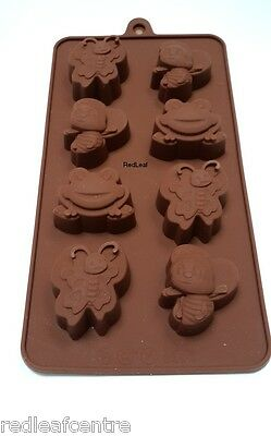 BUGS Food Grade Silicone Baking Mold Mould Chocolate Cake Candy Tray New