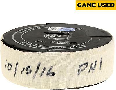 Game Used Flyers Puck Fanatics Authentic COA Item#6625872