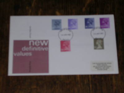 1981 - New Definitives - First Day Cover with Bristol Hand Stamp - FDC