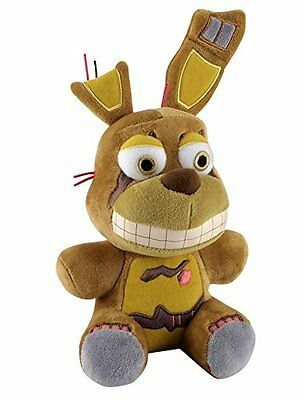 """New Fall 2016 Authentic Five Nights At Freddy's SPRINGTRAP 8"""" Plush Stuffed FNAF"""