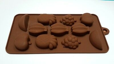 Fruit Food Grade Silicone Mould Chocolate Cake Candy Tray Brand New