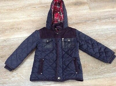 M&S Autograph Navy Blue Jacket Age 2-3 Years
