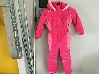 kids snow suit for girl 5-6years