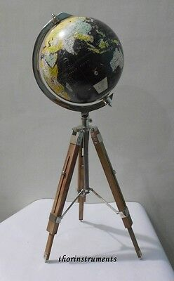 Studio World Desk Decor Globe with Tripod Stand Nautical Authentic globe