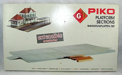 "Piko G-Scale 62006 ""PLATFORM SECTIONS"" New In Box"