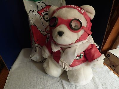 Collectable 1987  Dayton Hudsons  Pilot  Santa Bear With Bag...