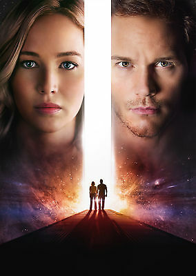 Passengers (2016) - A1/A2 POSTER **BUY ANY 2 AND GET 1 FREE OFFER**