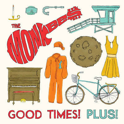 """The Monkees Good Times! Plus! 10"""" Ep Red Vinyl Rsd Black Friday 2016 ."""