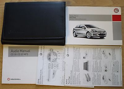 Vauxhall Astra Owners Manual Handbook And Wallet 2004-2010  Book Pack 11819