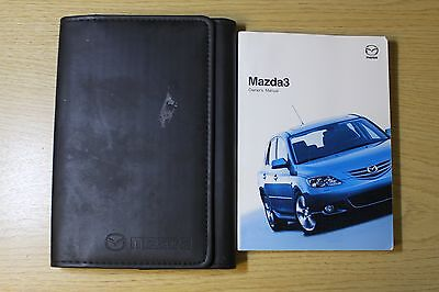 Mazda 3 Handbook Owners Manual Wallet 2003-2006 Pack 2204