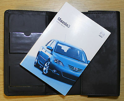 Mazda 3 Mazda3 Handbook Owners Manual Wallet 2003-2006 Pack 6929