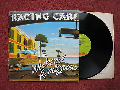 Racing Cars - Weekend Rendezvous. 1977 Rock LP on Chrysalis label. A1/B1. EX/VG