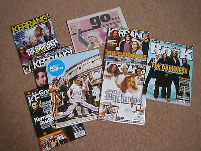 The Darkness: collection of 2004-5 magazines
