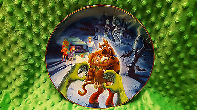 HTF 1997 Vintage Hanna-Barbera Scooby Doo Limited Edition 2500 Collectible Plate
