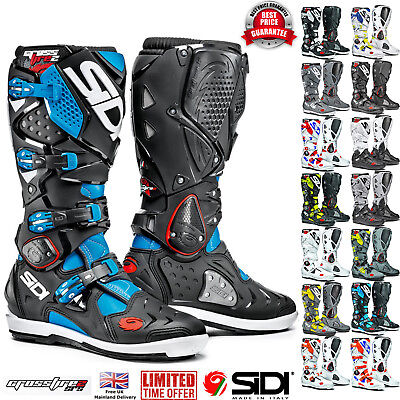 2017 SIDI Crossfire 2 SRS Motocross Off Road Enduro Boots