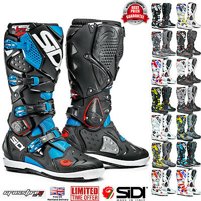 Sidi® Crossfire 2 SRS Motorcycle Off Road Motocross Boots