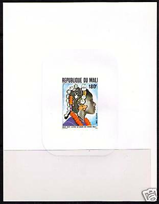 MALI Sc# 458 var MNH VF PROOF Hairstyle Accessories