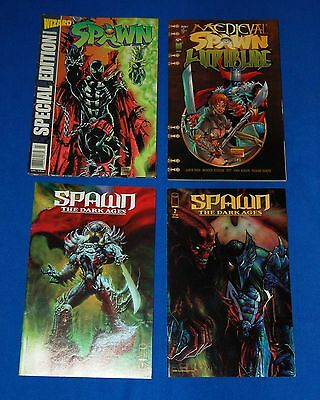 mcfarlane SPAWN THE DARK AGES - MEDIEVAL SPAWN / WITCHBLADE SPECIAL capullo