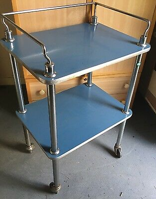 A. Bourne Ltd Medical Surgical Hospital Theatre Bar Display Trolley