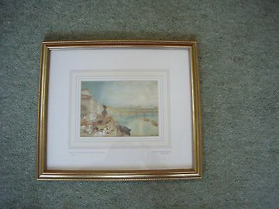 Print of J M Turner's 'The Seine from the Barriere de Passy'