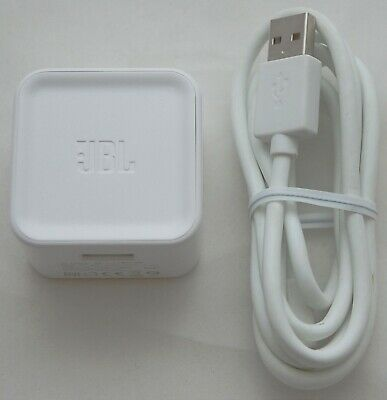 ORIGINAL JBL Charge/Flip 2 Speaker Power AC Adapter WHITE 5V 2.3A Home Charger A