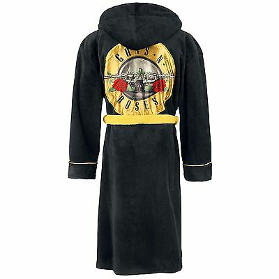 Guns N Roses - Classic Logo Hooded Bathrobe / Dressing Gown - New & Official
