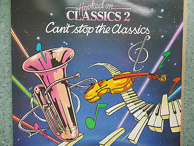 Hooked On Classics 2 Can't Stop The Classics-With Louis Clark Vinyl Album K TEL
