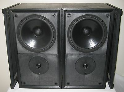 MISSION 700 LEADING EDGE TWO WAY BOOKSHELF SPEAKERS 100w LOVELY SOUND