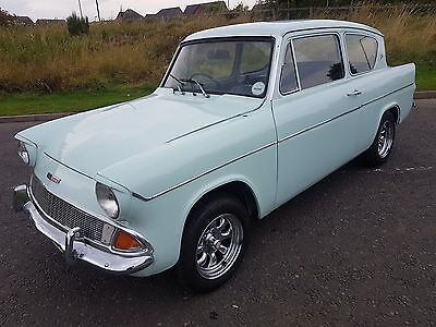 1967 Ford Anglia Deluxe - Rhd Import - Solid Car