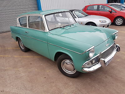 Ford Anglia Deluxe - Green - Rhd Import
