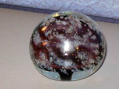 Glass Paperweight Collection Edward Roman Signed