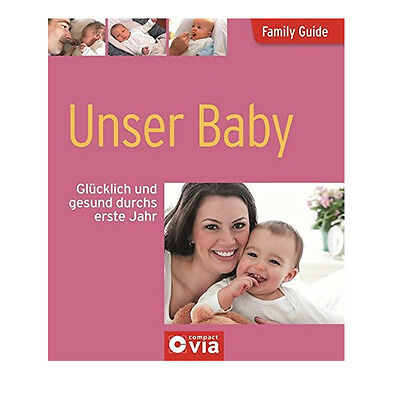 13 x BUCH Family Guide Unser Baby Buch B-Ware