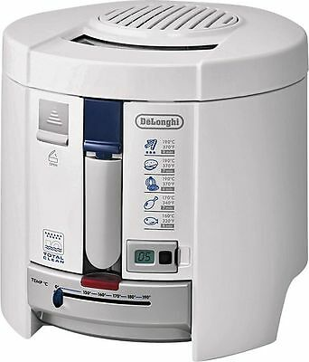 DeLonghi F26237W Deep Fat Fryer 1.8KW - White -From the Argos Shop on ebay