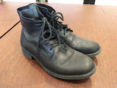 Steve Madden Men's Distressed Leather Boots - Size 11