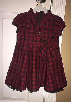 Girls Babygap Holiday Dress Size 12 To 18 Months
