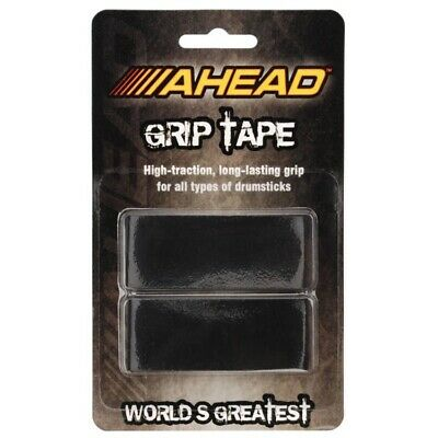 Ahead Drum Stick BLACK GRIP TAPE for Drumsticks High-Traction Lars Ulrich