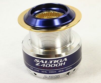 Spare Spool For Daiwa SALTIGA Z 4000H Spinning Reel [Excellent+++]