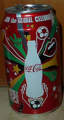 seltene COCA-COLA Coke FIFA WM 2010 Fussball Dose can Dosen USA