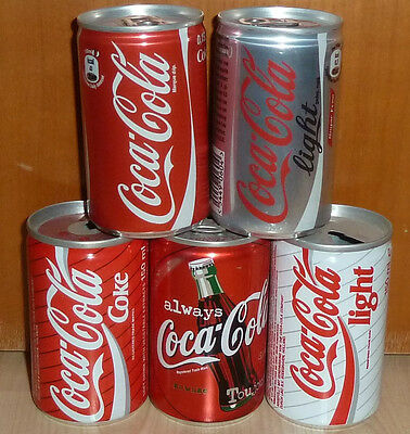 alte COCA-COLA Coke 150ml Dosen Coladosen blikjes cans lattine