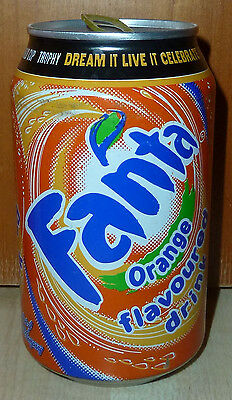 seltene COCA-COLA Coke FANTA orange FIFA WORLD CUP Dose Dosen AFRIKA