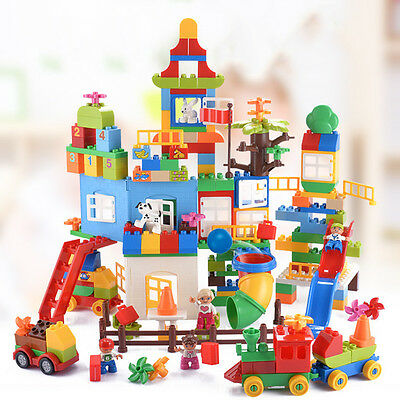 Baby Tinker Toys Kids Plastic Building Blocks Construction Block Education Toys